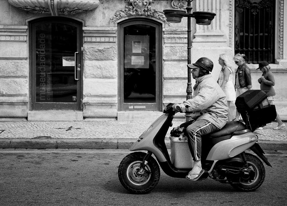 Balade à scooter