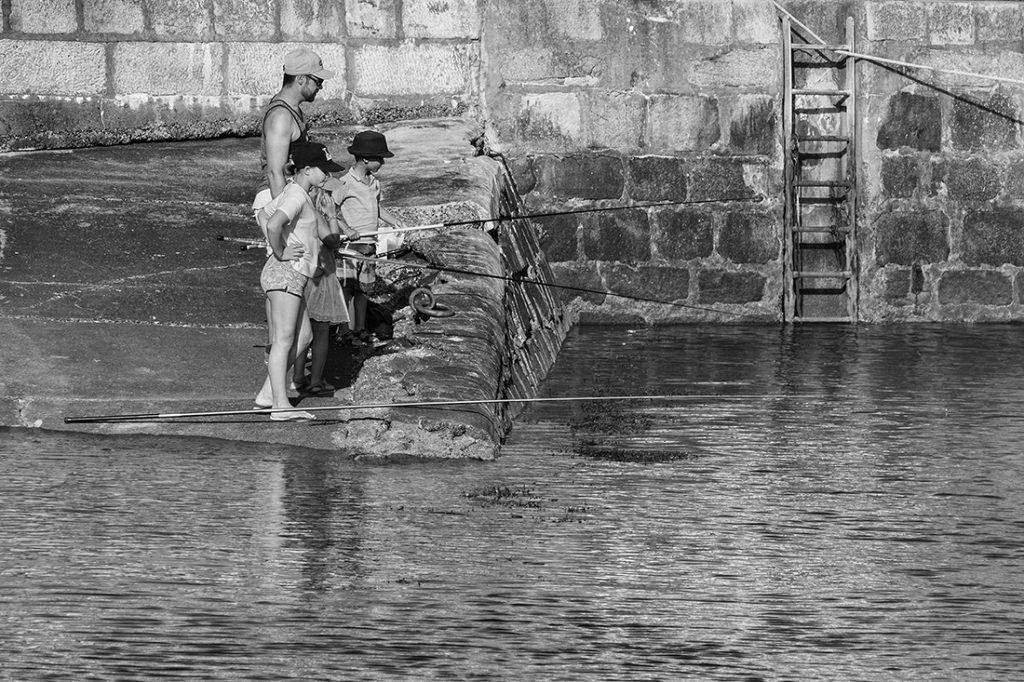 La pêche en famille