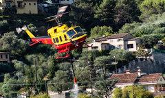 les HBE (Hélicoptères Bombardiers d'Eau)