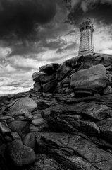 Le phare de Men Ruz à Ploumanach