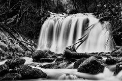 cascade de Prapsou cantal