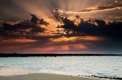 lever de soleil la tranche sur mer