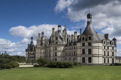 Château de Chambord : Vue arrière