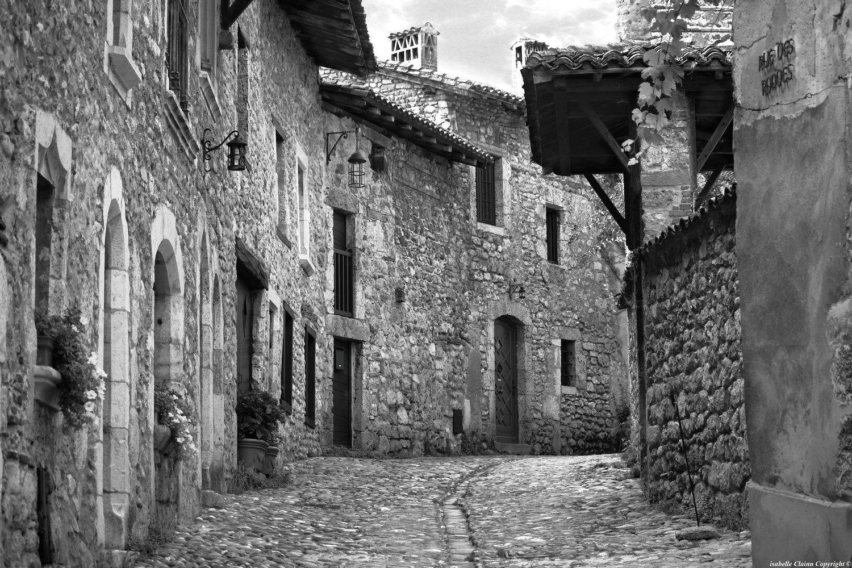 Cité médiévale de Pérouges, Ain.
