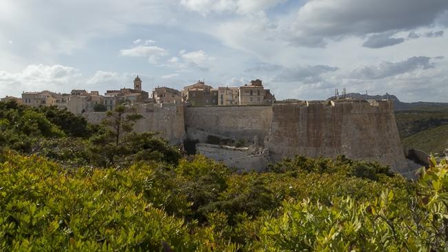Bonifacio et ces remparts