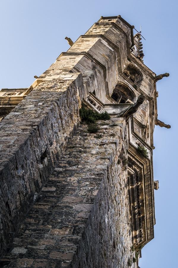 Limoux , le clocher de la cathédrale