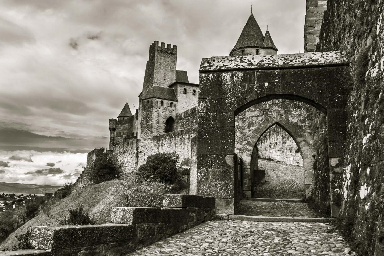 Carcassonne  , la cité
