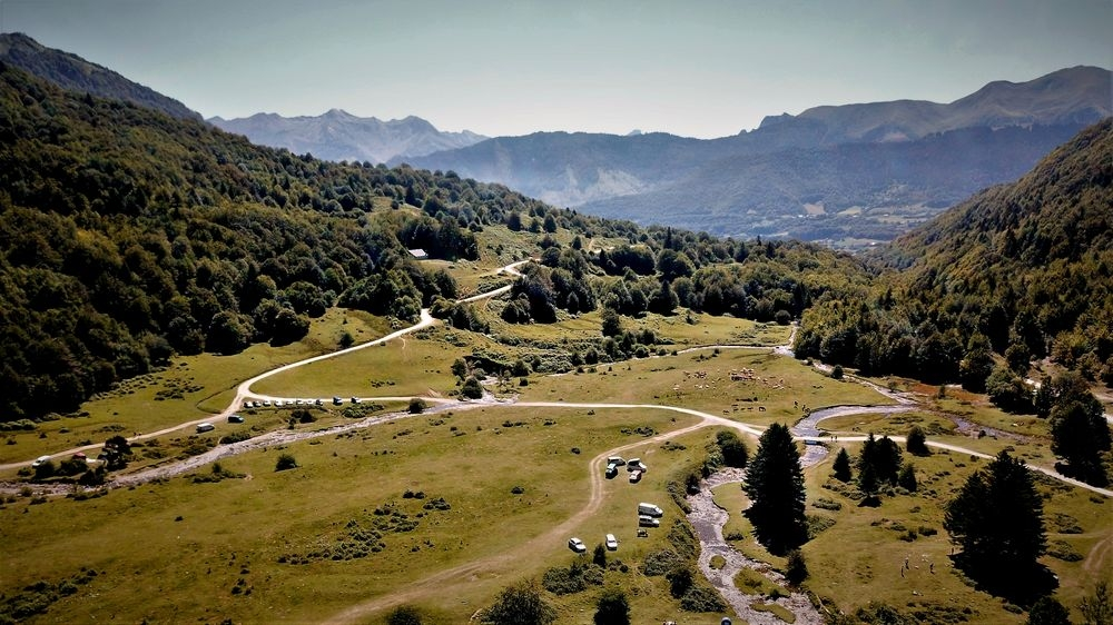 Cirque de  Lescun (64) Plateau de Sanchese