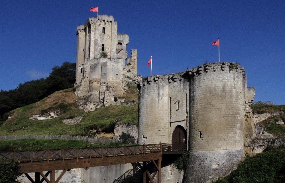 Château de Lavardin. Loir et Cher